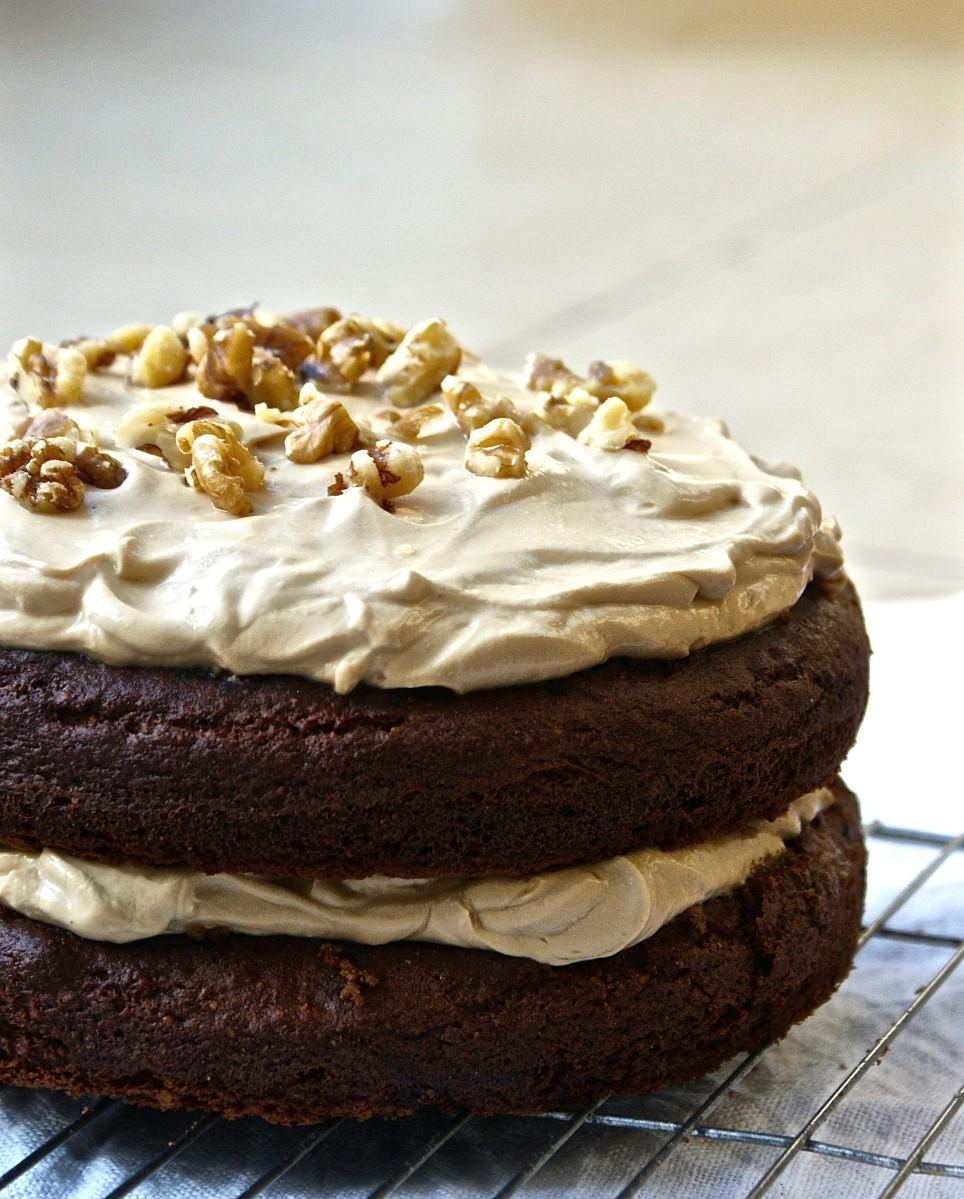 Healthy Marrow Cake Recipe