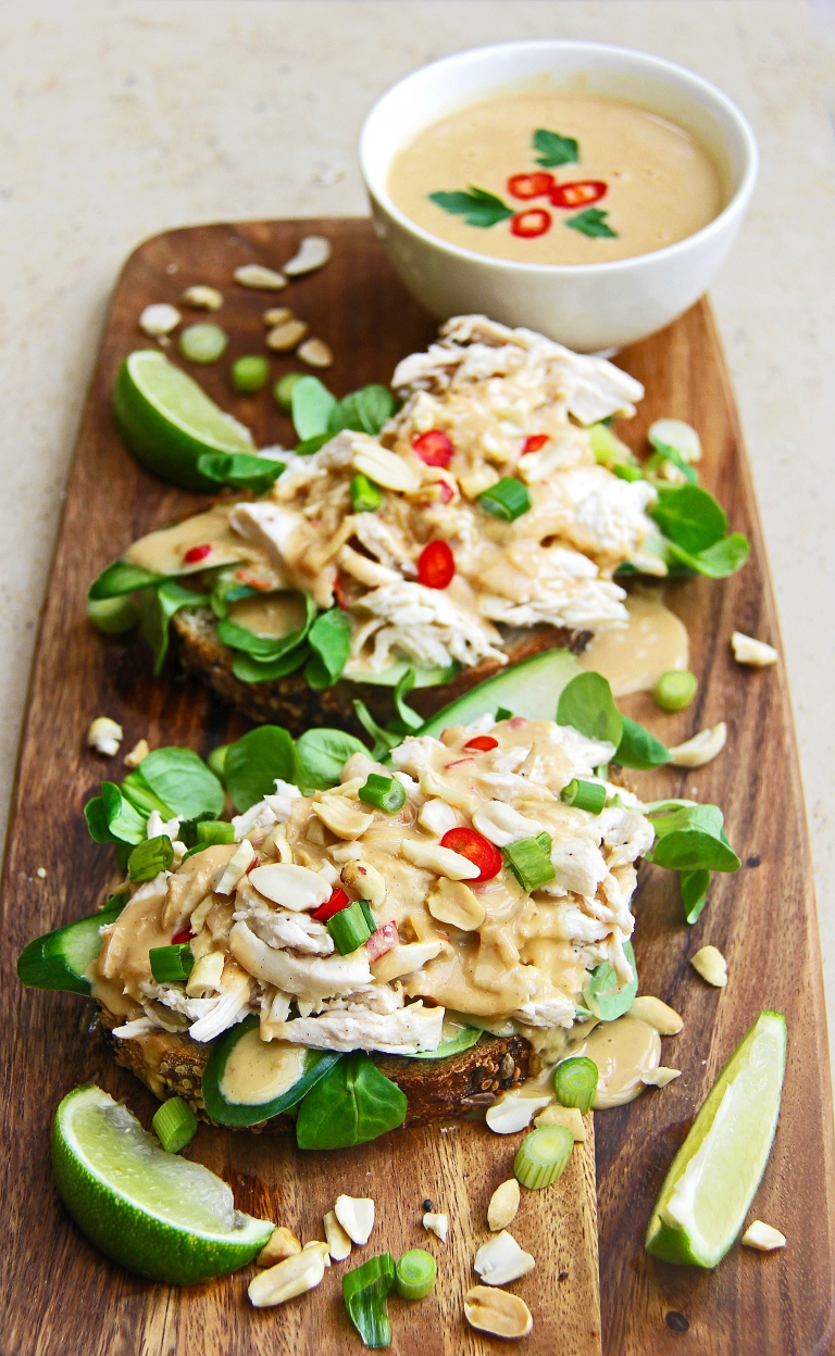 shredded-chicken-satay-open-sandwich-with-spicy-peanut-sauce-shaved-cucumber-and-chilli-5