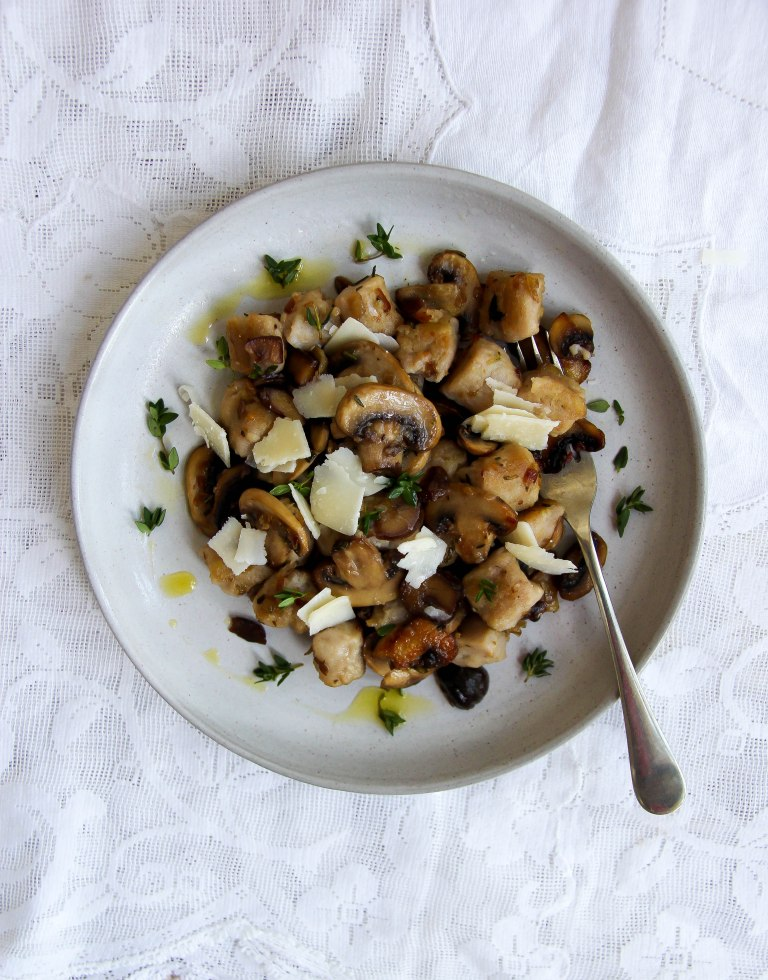 pan-fried-chestnut-gnocchi-with-butter-mushrooms-thyme-and-rosemary