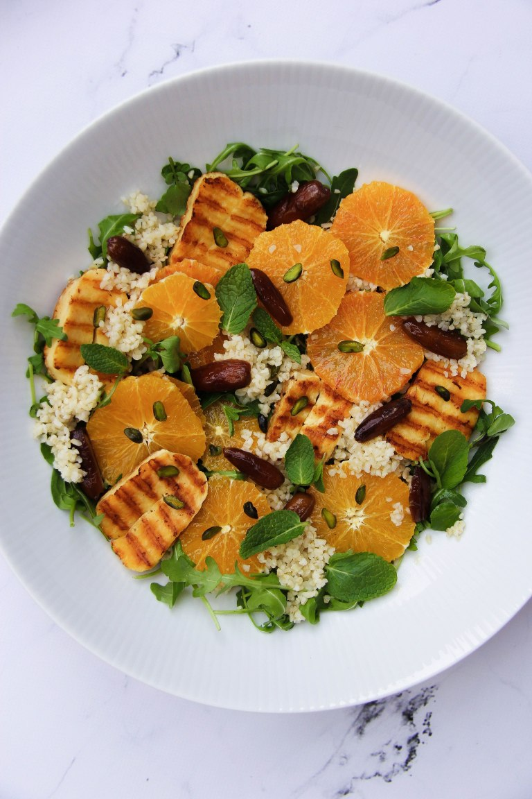 Orange, date halloumi salad LR 2